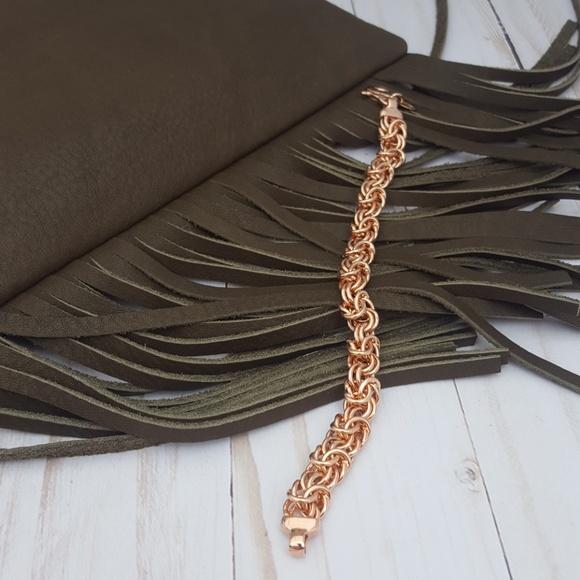 81 off Mia Fiore Italy Jewelry Mia Fiore Rose Gold Plated Bracelet
